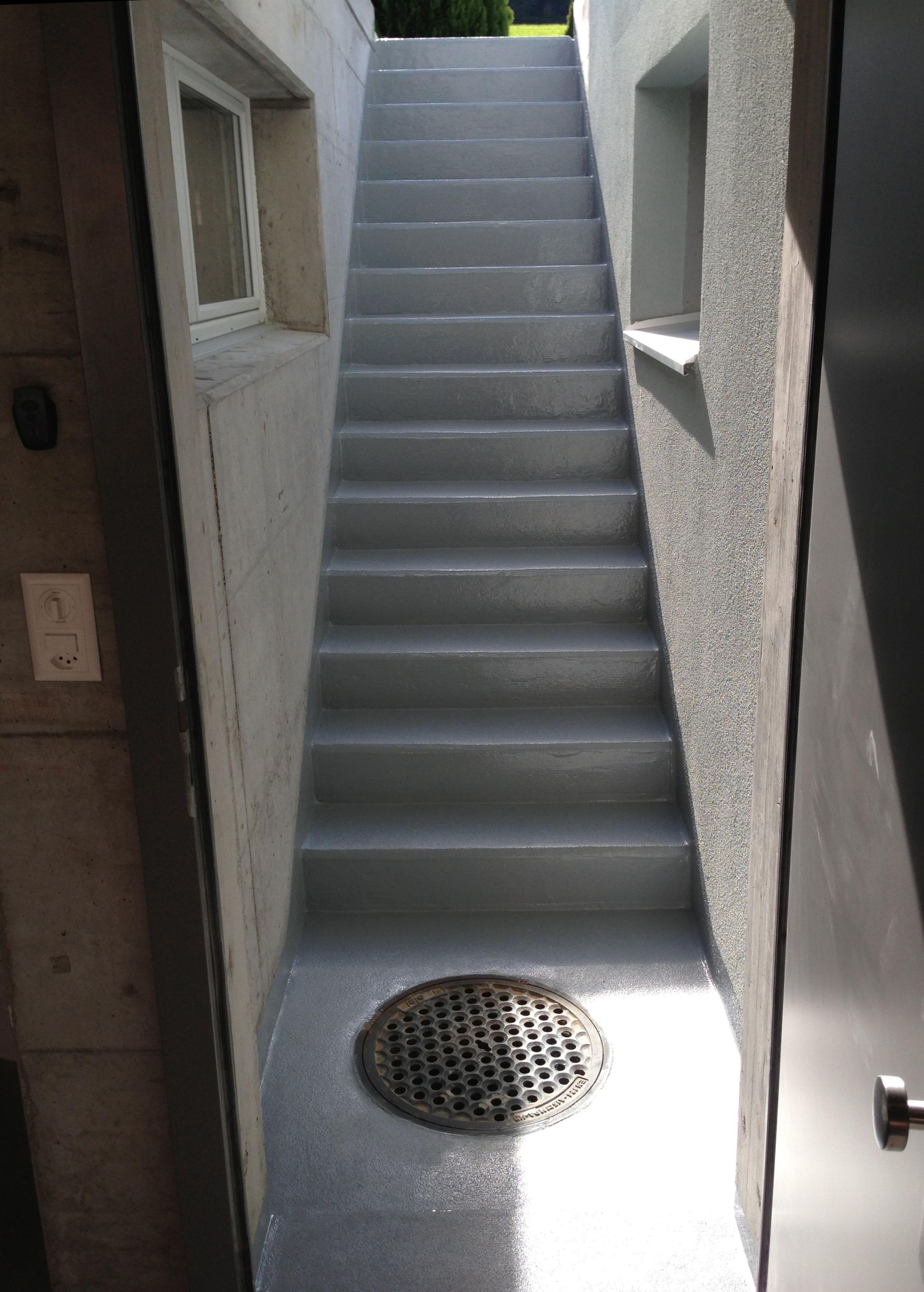 epoxidharz treppe